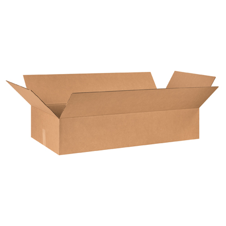 "48 x 12 x 6"" Long Corrugated Boxes"